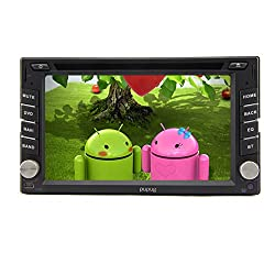 See Pure Android 4.2 Double DIN Car Stereo In Dash HD 6.2 inch Capacitive Touch Screen Universal GPS Navigation Video Audio Support 3G/Wifi/GPS/Bluetooth/DVR/1080P/SD/USB Details
