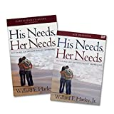 img - for His Needs, Her Needs Study Set - His Needs, Her Needs: Building an Affair-Proof Marriage (Study Guide + DVD) book / textbook / text book