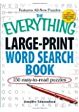 The Everything Large-Print Word Search Book: 150 Easy-To-Read Puzzles (Everything Series)
