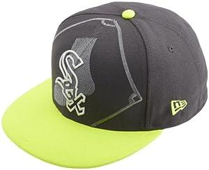 MLB Chicago White Sox Big Alt 59Fifty Cap, Dark Gray by New Era