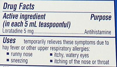 Claritin Children's Claritin Allergy, Non-Drowsy, Grape, 4-Ounce Bottles (Pack of 2)