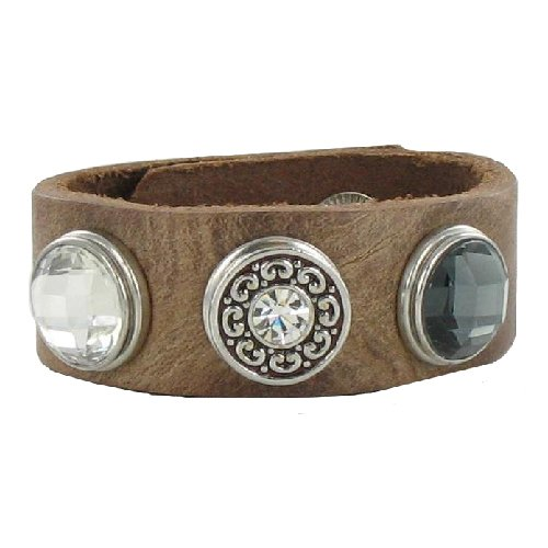 Eligo Jewellery 18mm Chunk Click-button Washed