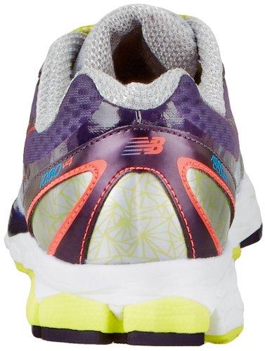 888098226782 - New Balance Women's W1080 Cushion Running Shoe,Silver/Purple,12 D US carousel main 1