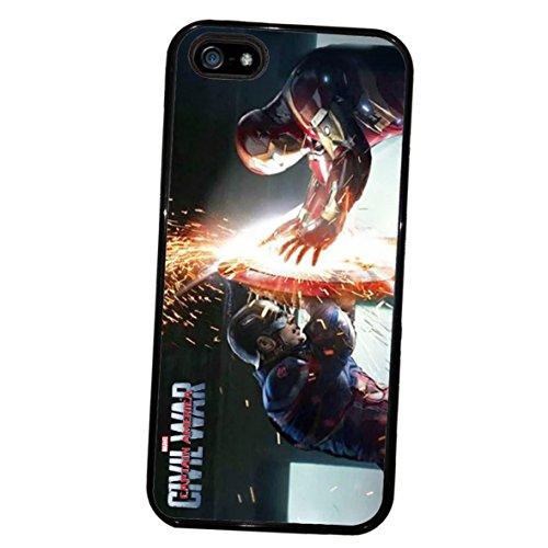 Captain America Civil War Duel Case Cover iphone 5 & 5s