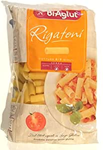 BiAglut Gluten-Free Rigatoni Pasta, 17.6 Ounce Packages (Pack of 6)