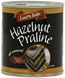 Love N Bake Hazelnut Praline, All Natural, 11-Ounce Can (Pack of 2)