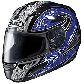 HJC CL-SP Throttle MC-2 Motorcycle Helmet - Size : Medium