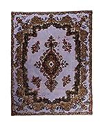 CarpeTrade Alfombra Deluxe Persian Vintage (Morado/Multicolor)