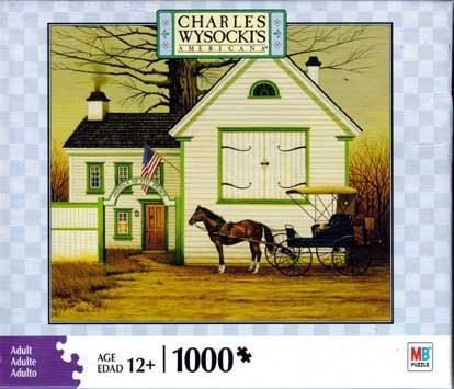 Charles Wysocki Puzzle Impatient Merger - 1