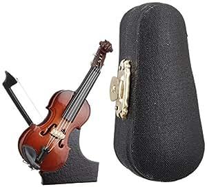SUNRISE SOUND HOUSE サンライズサウンドハウス ミニチュア楽器 バイオリン 7cm