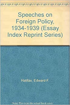 Essay on foreign policy