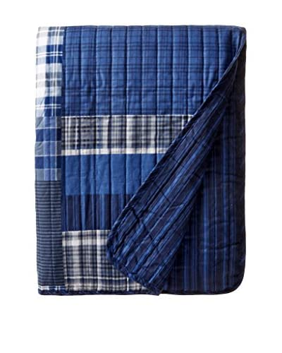 Eddie Bauer Eastmon Throw, Blue
