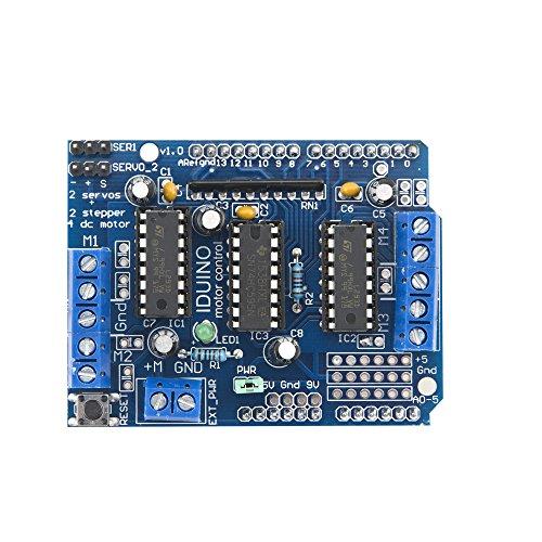 Adafruit Motor/Stepper/Servo Shield Kit for Arduino