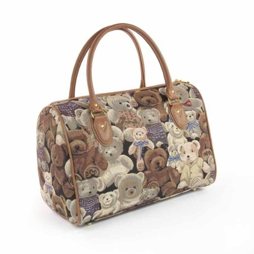 ladies weekend bag/travel duffle bag/gym bag/cabin approved hand luggage Teddy Bear
