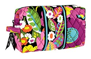 Vera Bradley Medium Cosmetic in Va Va Bloom
