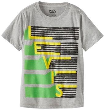 (新品)Levi's Boys 8-20 Logo Tee李维斯男童t恤$7.30
