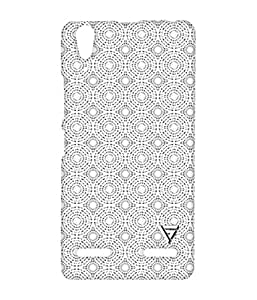Vogueshell Designer Pattern Printed Symmetry PRO Series Hard Back Case for Lenovo A6000