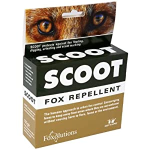 VALUE PACK - Scoot Fox Repellent - 2 x 100g - SAVE MONEY ON POSTAGE