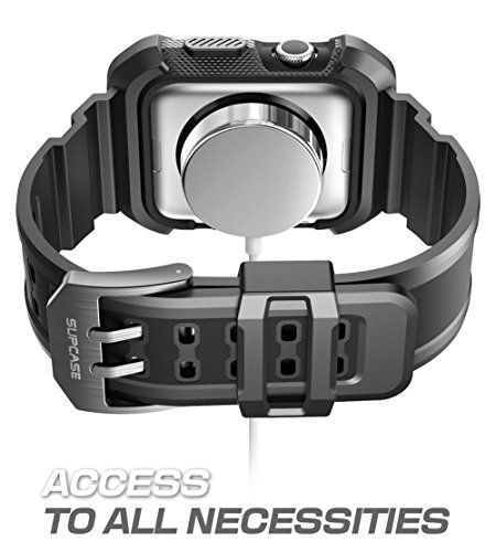 Apple-Watch-Case-SUPCASE-Unicorn-Beetle-Pro-Rugged-Protective-Case-with-Strap-Bands-for-Apple-Watch-Watch-Sport-Watch-Edition-2015-38-mm-Not-Compatible-with-42-mm