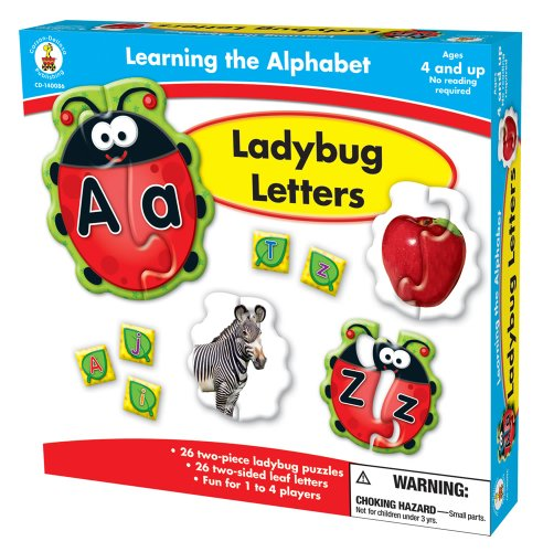 Carson-Dellosa Publishing Learning The Alphabet: Ladybug Letters