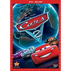 Cars 2 (Two-Disc Blu-ray / DVD Combo in DVD Packaging)