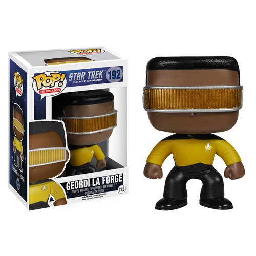 Star Trek: The Next Generation Geordi La Forge Pop! Vinyl Figure - 1