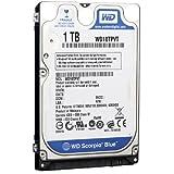 Western Digital 1 TB Scorpio Blue SATA 3 Gb/s 5200 RPM 8 MB Cache Bulk/OEM Notebook Hard Drive – WD10TPVT