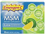 Emergen-C 1000mg Lite With Msm 30 Sachets
