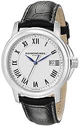 Raymond Weil Men's 5478-STC-00300 Tradition Analog Display Swiss Quartz Black Watch