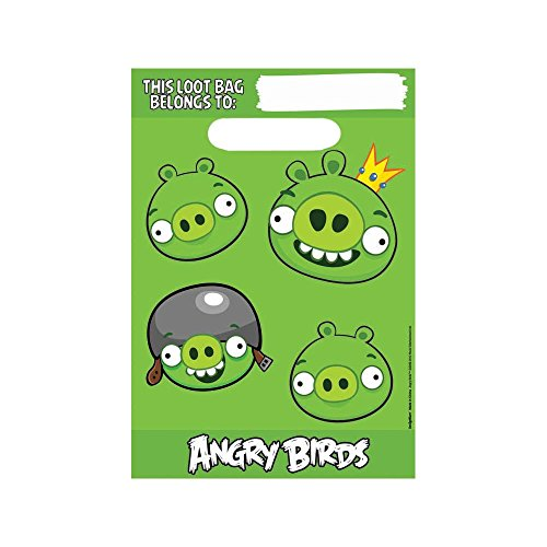 Angry Birds Loot Bag (8-Pack) - 1
