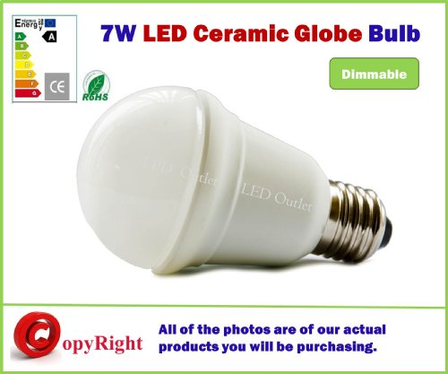 Dimmable E27 7W