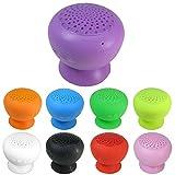 Wasserdichter Mini Bluetooth Lautsprecher mit Saugnapf für