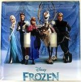 Disney Frozen Double Light Switch Plate Cover Elsa, Snowman Swd001