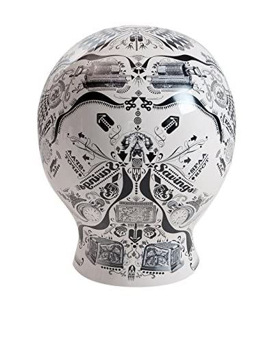 Seletti The Moneybox, White/Black