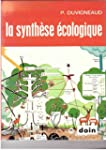 La synthese ecologique : populations,...