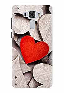 Noise Designer Printed Case / Cover for Asus ZenFone 3 Laser ZC551KL with 5.5 inch screen size / Patterns & Ethnic / Heart Design