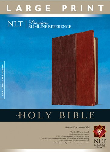 Premium Slimline Reference-NLT-Large Print (Premium Slimline Reference Lp)