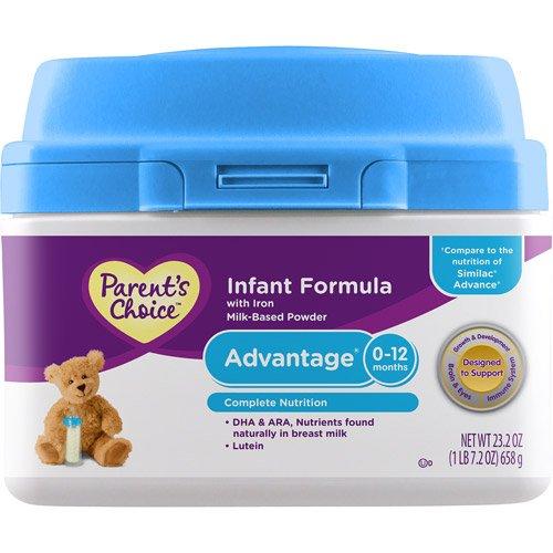 Parent\'S Choice Advantage Powdered Formula With