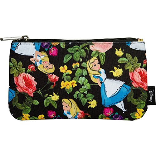 womens-loungefly-alice-in-wonderland-floral-coin-cosmetic-bag-black