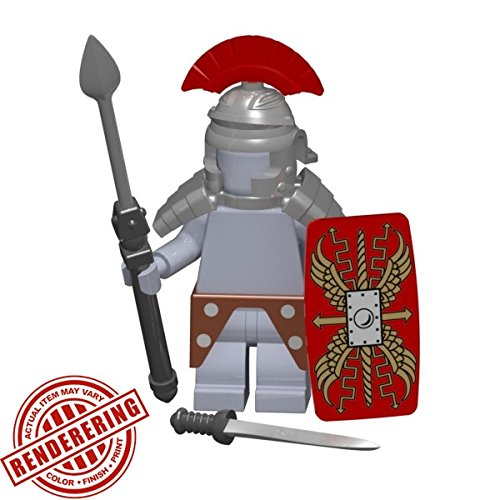 Brickforge-Roman-Legionary-Centurion-Historical-Warrior-Pack-Minifigure-Not-Included