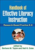 img - for Handbook of Effective Literacy Instruction: Research-Based Practice K-8 book / textbook / text book