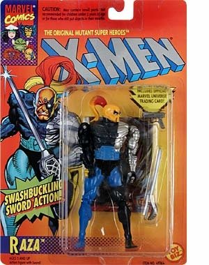 X-Men > Raza Action Figure - 1