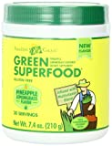 Amazing Grass Green Superfood, Pineapple Lemongrass, 7.4 Ounce