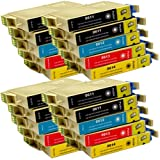 20 CiberDirect Compatible Ink Cartridges for use with Epson Stylus D88+ Printers.