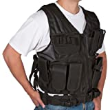 Modern Warrior Black Tactical Vest