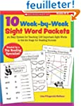 10 Week-by-Week Sight Word Packets: A...