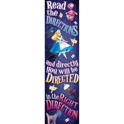 Eureka Alice In Wonderland Directions Vertical Banner front-799728