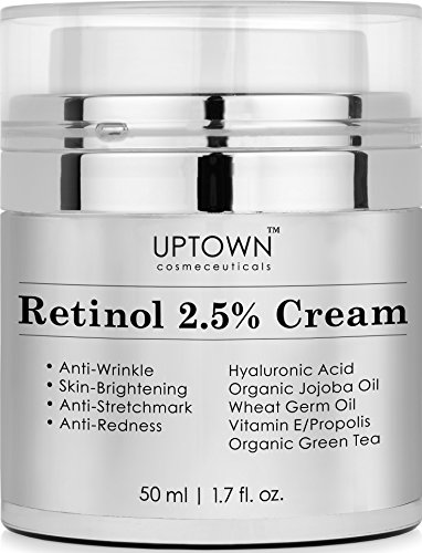 Retinol 2.5% Cream From Uptown Cosmeceuticals