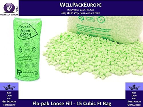 loose-fill-void-fill-poly-peanut-chips-eco-flo-pak-green-15-cubic-foot-biodegradable-next-day-delive