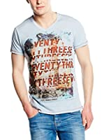 Pepe Jeans London Camiseta Manga Corta Kingscross (Azul Claro)